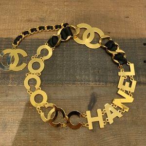 Huge Vintage 90s COCO CHANEL Belt/Necklace